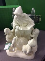 """Dept 56 Snowbabies """"jack Frost ... Story For A Frosty Night"""" New In Box - Rare"""