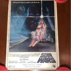 Star Wars First Japanese Release Poster 1977 20th Century Fox Used Unframed