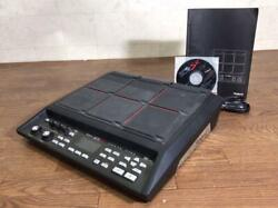 Roland Spd-sx Sampling Pad Electronic A126m017 Manual Power Cable System Disk
