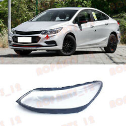 For Chevrolet Cruze 2016-2018 Left Side Headlight Clean Cover Pc+glue