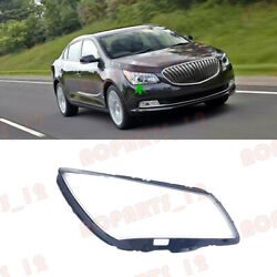 1pcs For Buick Lacrosse 2014-2016 Right Side Headlight Clean Cover Pc+glue