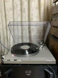 Used Technics Record Player Sl-d2 Sumiko Black Pearl Operation Confirmed O