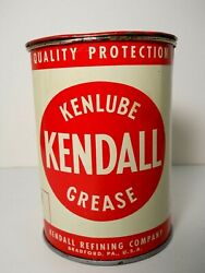 Vintage Kendall Kenlube Chassis Lube Grease 1 Lb Can