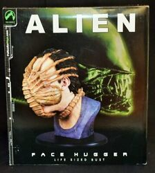 Used 2003 Palisades Alien Facehugger Prop Replica 420mm Life Size Bust Mib
