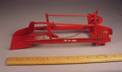 Vintage Carter's Tru-scale Front End Loader 116 Metal Farm Toy Ih Farmall '50s