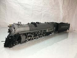 1001 Overland Model Northern Pacific A-4 4-8-4 Sofue Drive Brass O Scale 2 Rail