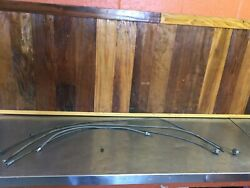 Triumph Tr3 Tr4 Tr250 Andbull Assorted Tach Speedo Heater Cables. For Parts. T2235
