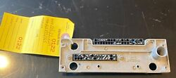 Bendix/king Kx-155165 Backplate With Connectors P/n 073-00431-00