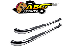 Westin For 2004-2006 Toyota Tundra E-series Nerf Bars Polished Stainless-23-2400