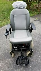 Shoprider Mid-wheel Powerchair 6runner 14hd- Barely Used-only Moved In Garage