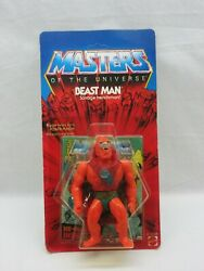 Motu,vintage,beast Man,masters Of The Universe,moc,sealed,unpunched,he-man