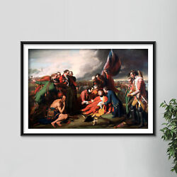 Benjamin West - The Death Of General Wolfe 1770 - Painting Poster Art Print