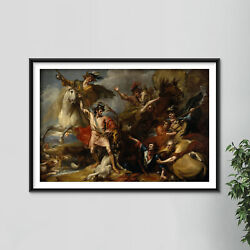 Benjamin West - Alexander Iii The Death Of The Stag Painting Poster Art Print