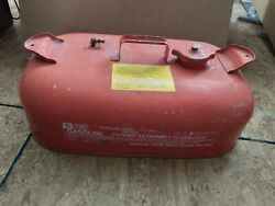 Vintage Omc Metal Outboard Gas Can Model 3 3g Parts/not Working Inside Not Clean