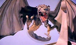 1962andrsquos Jack The Giant Killer Griffin Attacks Ship Color 6x10 Scene