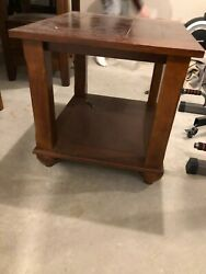 Square Wooden Coffee/end Table