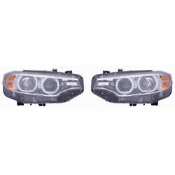 For Bmw 428i/430i/435i/440i Gran Coupe Headlight 2014-2019 Pair Lh And Rh Side