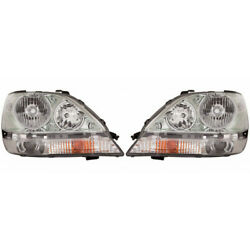 For Lexus Rx300 Headlight 2001 2002 2003 Pair Lh And Rh Side Hid Type