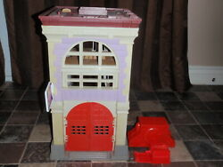 Vintage 1987 Ghostbusters Firehouse Playset Columbia Pictures Kenner