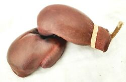 1950's Rubber Miniature Boxing Gloves Argentina Corti Sports Advertising Rare