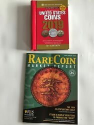 Us Coin Guides 2019 Official Red Book Of Us Coins + Pcgs Magazine Mar/april