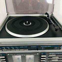 Sears Stereo System Cassette Turn Table Record Player Am-fm Retro Vintage