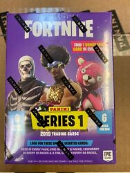 20 X 2019 Fortnite Series 1 Trading Cards Blaster Boxs.. 6 Packs .. Sealed Case