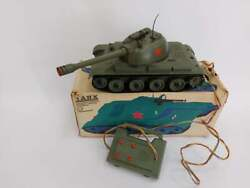 N.o.s Vintage Old Rare Russian Ussr Military Toy Tank КН 70 Remote Control+box