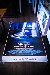 Batteries Not Included 4x6 Ft Bus Shelter D/s Movie Poster Original 1987