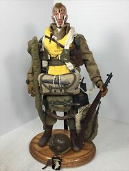 1/6 Did Us 101st Airborne Paratrooper S.sgt D Day Normandy +stand Ww2 Bbi Dragon