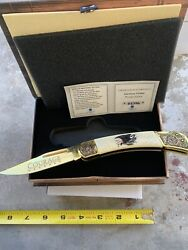American Virtues Courage Collectible Knife Falkner 1