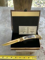 American Virtues Determination Collectible Knife Falkner 1