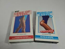 Buns Of Steel And New Sealed Legs Of Steel Vhs Tapes Free Shipping