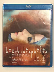 Bjork Biophilia Live Audiovisual Package 2014 Blu-ray Dvd And 2 Cds Excellent