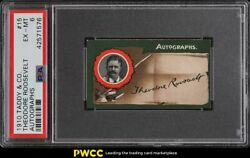 1910 Taddy And Co. Theodore Roosevelt Auto 15 Psa 6 Exmt