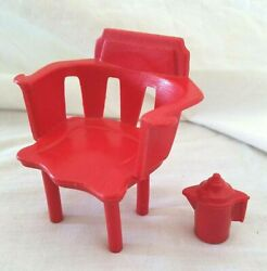 Chair And Coffee Pot 1973 Evel Knievel Red Scrambler Van Camper 5658 01