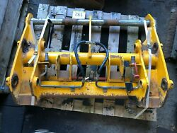 Genuine Jcb Front Hydraulic Quick Hitch Carriage 192