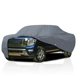 [cct] Semi Custom Fit Car Cover For Nissan Frontier Pickup Truck 1997-2021