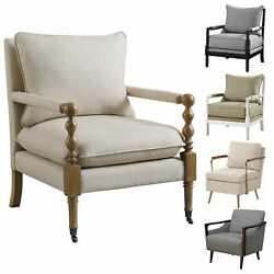 Coaster Home Furnishings Upholstered Accent Chair Beige Grey