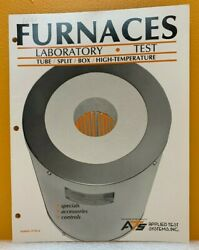 Ats Applied Test Systems, Inc Funaces Bulletin 3110/a Catalog.
