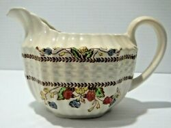 Creamer Copeland Spode Made In England Spodes Cowslip 5 1/2 In. X 3 In.