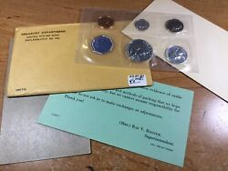 1960 Us Mint Prof Set-silver-w/org. Packaging-very Nice-rare Date-020721-0081