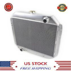 3 Rows Radiator For Ford F100 F150 F250 F350 Bronco Truck 1966-1979 1976 1978