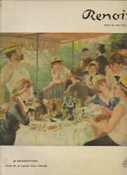 Art , Renoir By Walter Pach , 68 Reproductions , Hc/dj , Large Format