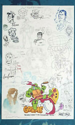 Jam Page Neal Adams, Dave Stevens, Mike Kaluta, Kevin Eastman + More 1990's