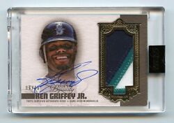 2019 Topps Dynasty Ken Griffey Jr. 3 Color Patch Seattle Mariners