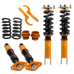 4x Coilover Kits For Dodge Charger 06 07 09 10 And Srt-8 Adj. Height Shock Struts