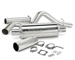 Edge Jammer Exhaust System Turbo-back - W/o Catalytic Converter - 37701