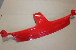 Oem 03-06 Chevy Ssr Bulkhead Waterfall Top Stowage Compartment Upper Trim Panel