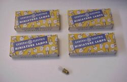 Nos 100 Ge General Electric No. 1815 Miniature Indicator Lamps Ba9s -made In Usa